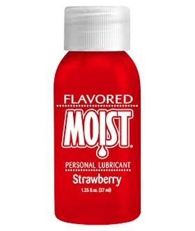 FLAVORED MOIST STRAWBERRY 1 OZ