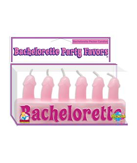 Bachelorette Pecker Candles