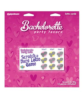Sractch and Dare Lotto 12 pk