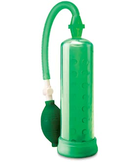 PUMP WORX - Silicone Power Pump Green