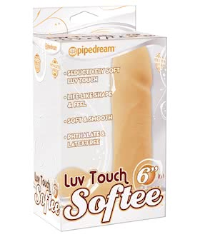 LUV TOUCH SOFTEES 6 INCH - FLESH