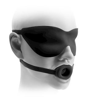 Fetish Fantasy Elite Large Open-Mouth Gag & Mask™