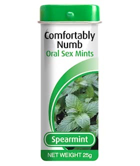 Comfortably Numb Mints Spearmint