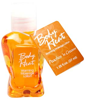Body Heat: Peaches N Cream - 1.25 fl.oz