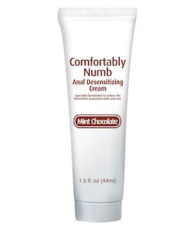 Comfortably Numb Anal Desensitizing Cream Chocolate Mint