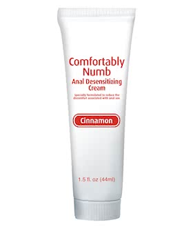 Comfortably Numb Anal Desensitizing Cream Cinnamon
