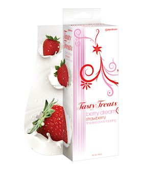Tasty Treats Berry Dream Strawberry Flavored Body Topping