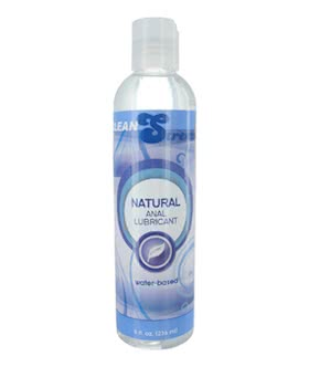 CleanStream Water-Based Anal Lube - 8oz