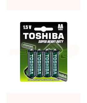 Toshiba Super Heavy Duty AAA 4 pk
