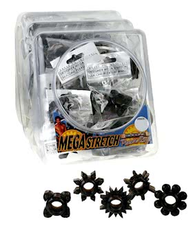 MEGA STRETCH RINGS BLACK