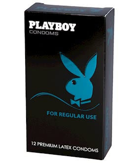 Playboy Condoms For Regular Use 12 Pack