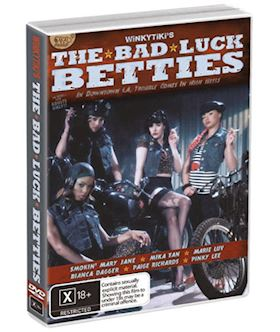 The Bad Luck Betties - DVD