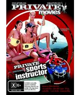 Private Sports Instructor (Private Movies 38) - DVD