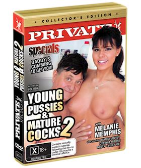 Young Pussies And Mature Cocks 2 (Private Specials 43) - DVD