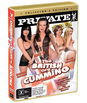 The British Are Cumming Volume 1 (The Best By Private 149) - DVD