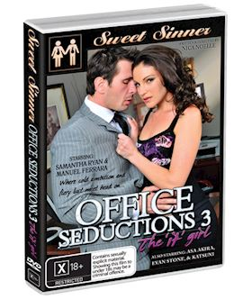 Office Seductions Vol 3 - DVD