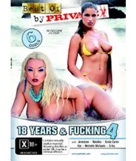 18 Years and Fucking 4 (Best of Private 77) - DVD
