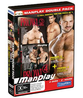 Manplay: Prowl 3 and Prowl 4 - DVD