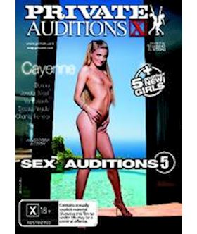 Private Sex Auditions 5 (Private Auditions 2 ) - DVD