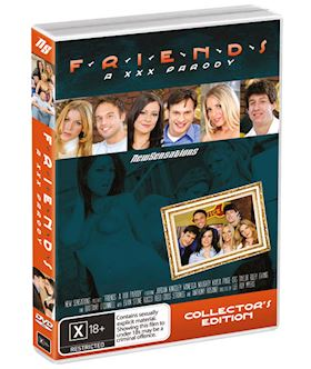 Friends A XXX Parody - DVD