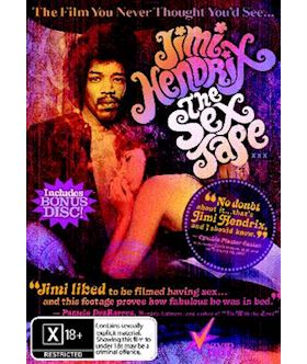 Jimi Hendrix The Sex Tape - DVD