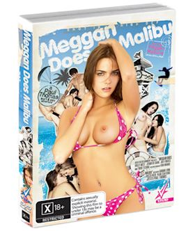 Meggan Does Malibu - DVD
