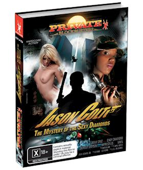 Jason Colt The Mystery of the Sexy Diamonds (PBB001) - DVD