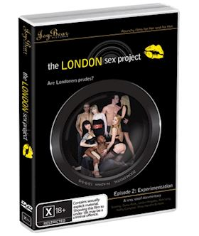The London Sex Project Episode 2: Experimentation - DVD