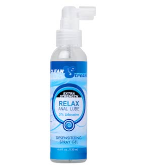 Relax Anal Lube 5-Percent Lidocaine, 4.4 oz.