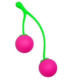Charming Cherries Silicone Kegel Exercisers
