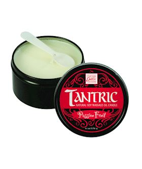 Tantric Passion Fruit Massage Oil Candle