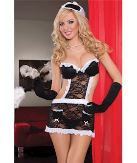 Fantasy Maid Lace apron STM 9258X OSQ