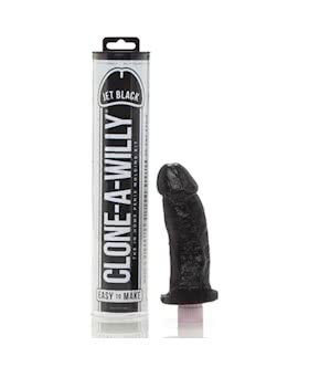 Clone-A-Willy Kit: Jet Black