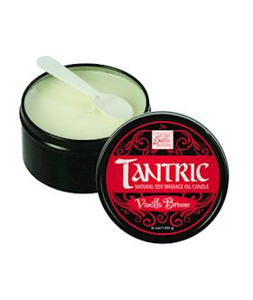 Tantric Vanilla Breeze Massage Oil Candle