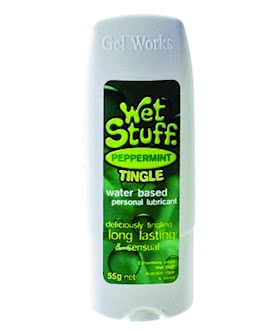 Wet Stuff Peppermint Tingle 55g Tottle